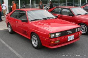 1984 Audi UrQuattro quattro, rally sport 20vt AAN 6-speed 336whp
