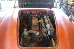 Two 1960 Austin Healeys