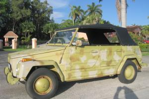 VW VOLKSWAGEN THING 1973 TYPE 181 from Clean FLORIDA Title Fantastic Condition