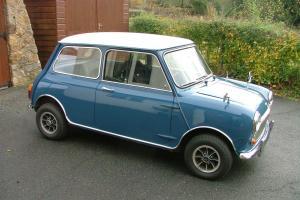 Classic Morris Mini Cooper Mark 2 998cc - ROAD TAX EXEMPT