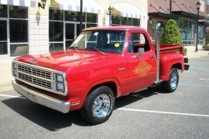 1979 Dodge Lil Red Express  red,nice,drives great,sounds good,pick up,dodge ram