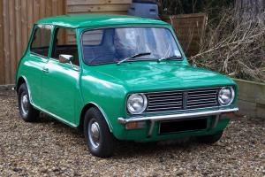 1973 AUSTIN MINI CLUBMAN 998 AUTO - 3 OWNERS - GOOD CONDITION - FULLY SERVICED