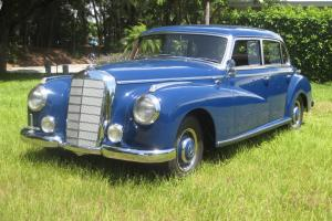 Mercedes Benz Mercedes Classic Antique Vintage Rare Show 300 1952 Restored Benz