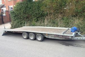Brian James Tilt Bed Tri Axle Car Trailer / Car Transporter / Recovery