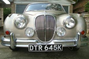 1967 DAIMLER 2.5 V8 LIKE JAGUAR MK2 RUNNING RESTORATION PROJECT