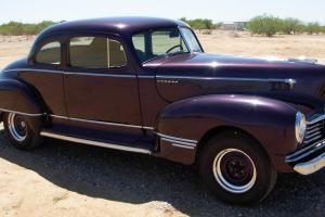 1947 Hudson 2 Door  BUSINESS COUPE SUPER SIX