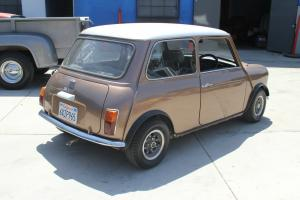morris mini real 1972 clubman upgrades 1100cc