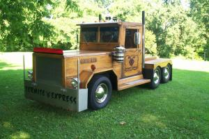 1 Of A Kind Truck All Hard Maple Wood Truck