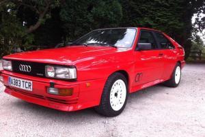 CLASSIC 1984 AUDI QUATTRO UR RHD RED  Photo