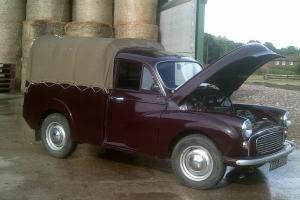 MORRIS MINOR/ AUSTIN PICK UP/ COMMERCIAL CLASSIC CAR