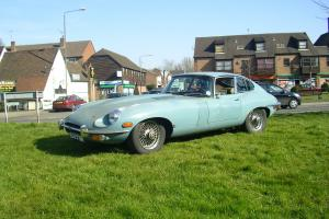 Jaguar E type Series 2 fhc