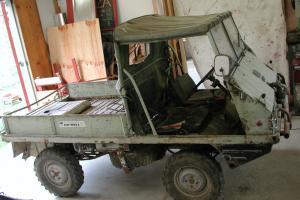 Haflinger 1972 Steyr Puch 4x4