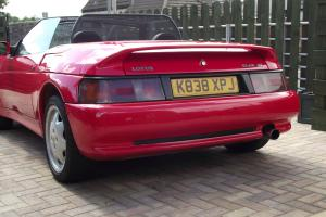 1993 Lotus Elan SE Turbo Exceptional example in Calypso Red with service history