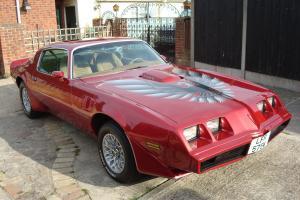 1979 PONTIAC TRANS-AM 6.6/V8 AUTO HARDTOP IN MET RED