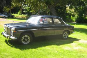 1973 ROVER 3.5 LITRE P5 SALOON AUTO IN DARK BLUE