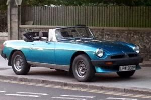 MGB Roadster will consider px with Camper/ Motorhome or anything interesting
