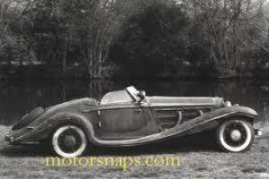 Derby Bentley restoration project tourer Mercedes SSK styling