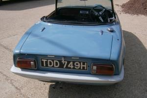 Lotus Elan S4 SE DHC Webber Engined 1969 Partly restored needs finishing