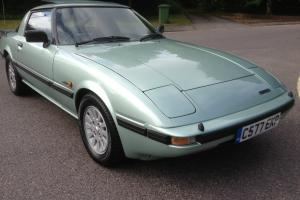 1986 MAZDA RX7 2 GREEN SERIES ONE AMAZING CONDITION JUST SERVICED AND MOT
