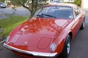 Original 1967 Lotus Elan Photo