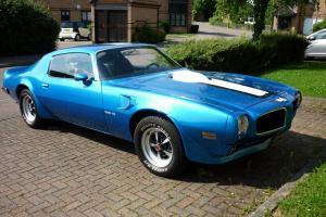 1971 PONTIAC TRANS AM 455 HO BLUE