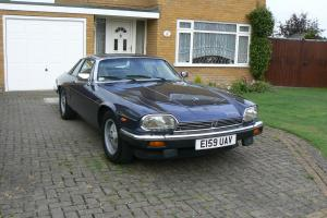1987 JAGUAR XJS HE AUTO BLUE Very Low Mileage 60869 miles
