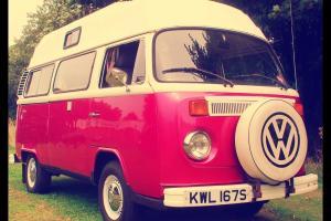 Stunning Retro California Styled Volkswagen Bay Window Camper. All Living Equip