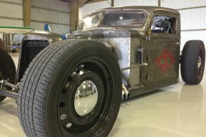 Diamond T Truck bobber rat rod custom slammed fast hot rod all steel