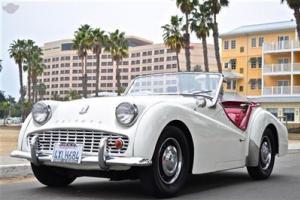 1963 Triumph TR3 B. Nice example