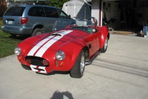 1967 Shelby Cobra Kit Car built on a 1977 280z frame and motor