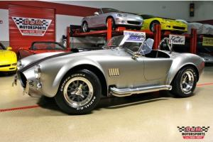 1965 SUPERFORMANCE MKIII TITANIUM METALLIC/BLACK STRIPES BRAND NEW CHASSIS
