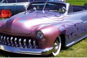 "Custom 1950 Mercury Convertible ""Lead Sled"""