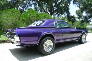 "67 Mercury Cougar ""Show Car"" Awsome purple pearl wth black pearl ghost strips"