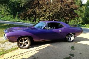 1970 Plymouth Barracuda 440 CUDA Road Ready!! Plum Crazy Purple MOPAR Exc Cond.