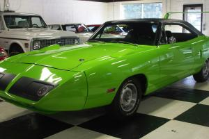 1970 PLYMOUTH ROAD RUNNER SUPERBIRD FJ5 LIMELIGHT GREEN
