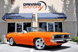 1970 Plymouth Cuda Convertible! Showroom Kept!! RARE!!!