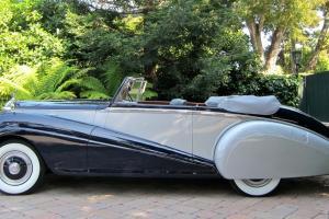 1952 Rolls-Royce Silver Dawn Park Ward Drophead Coupe lhd