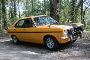 1972 HILLMAN AVENGER TIGER Mk1. Excellent and very original car.