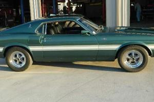 69 Shelby GT500 Silver Jade Auto A/C Tiltaway Column fold down