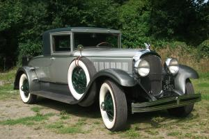 1928 Chrysler Imperial Le Baron L80 Club Coupe, -only 25 were built two remain.