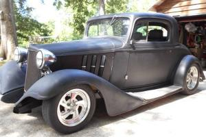 1933 CHEVY 3 WINDOW CPE ALL STEEL Photo