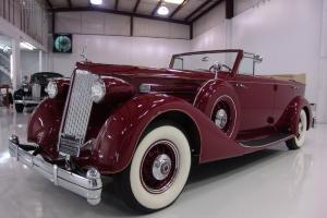 1936 PACKARD TWELVE CONVERTIBLE SEDAN, EXTREMELY LOW PRODUCTION!