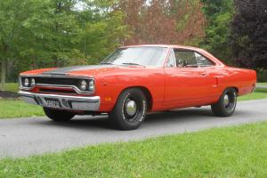 1970 PLYMOUTH ROADRUNNER MATCHING NUMBERS 383/335 HP AUTO 8 3/4 82K ORIG MILES