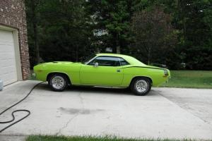 72 Plymouth Cuda 5 Speed Manual with Overdrive Replaced Transmission - Upgraded