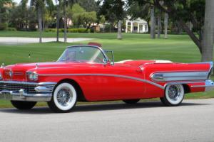 1958 BUICK CENTURY CONVERTIBLE 51K MILES TWO-OWNER COLLECTOR CAR