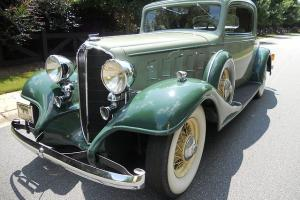 1933 BUICK SPECIAL COUPE MODEL 66S, EXTREMELY RARE, OLDER RESTORATION, RUST-FREE Photo