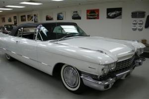 1960 Cadillac Series 62 Convertible Original 79,540 miles rare classic caddy