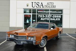 1970 Cadillac Eldorado Base Hardtop 2-Door 8.2L leather Copper bronze Coupe
