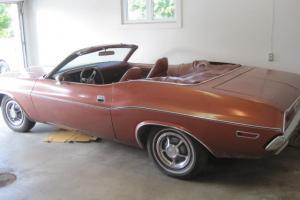 1970 Dodge Challenger Convertible... True Survivor