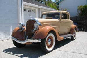 1934 Dodge deluxe coupe Rust free California Award Winning Beauty